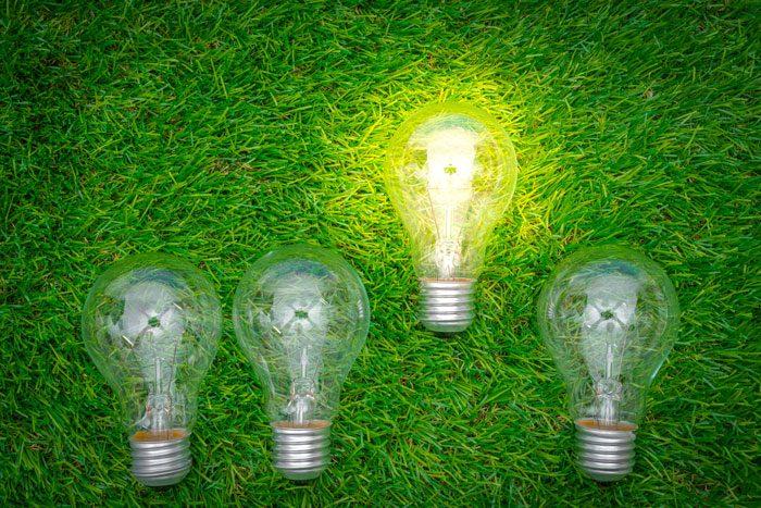 energia verde para reducir la huella de carbono